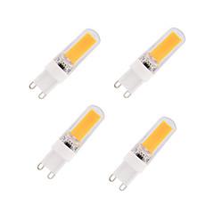 3W E14 G9 G4 Lâmpadas Espiga T 1 COB 280 lm Branco Quente Branco Frio AC220 V 4 pçs