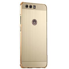 For Belægning Etui Bagcover Etui Helfarve Hårdt Aluminium for HuaweiHuawei P10 Plus Huawei P10 Huawei P8 Lite (2017) Huawei Honor 6X