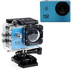 Actionkamera / Sportkamera 16MP 640 x 480 1920 x 1080 1280 x 720 LED Vattentät G-Sensor Bred vinkel Allt-i-ett Justerbar USB 60fps Nej 2