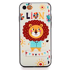 Til Apple iPhone 7 7plus Case Cover med stativ mønster bagcover case animal hard pc 6s plus 6 plus 6s 6