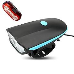 Pyöräilyvalot Polkupyörän etuvalo Polkupyörän jarruvalo LED Pyöräily Himmennettävä Vedenkestävä ladattava Helppo kantaa Litium-paristo 250