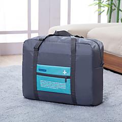 Reisetasche Klappbar Transportabel Hohe Kapazität für Kulturtasche Polyester-Orange Rose Grün Blau