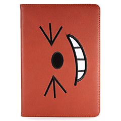 För äpple ipad mini1 2 3/4 fodral med stativ flip pattern full body case cartoon hard pu leather