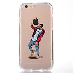 Dla iphone 7 kreskówka człowiek tpu miękka cienka tylna pokrywa pokrywa sprawy dla jabłko iphone 7 plus 6s 6 plus se 5s 5 5c 4s 4