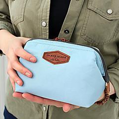 Reisetasche Klappbar Transportabel Hohe Kapazität für Kulturtasche Baumwolle-Orange Dunkelblau Blau Rosa