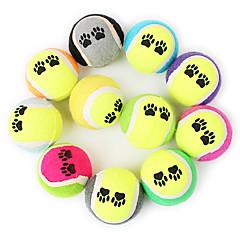 Zabawka dla psa Zabawki dla zwierząt Owalne Zabawki do żucia Piłka tenisowa Gąbka