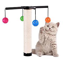Παιχνίδι για γάτες Παιχνίδια για κατοικίδια Διαδραστικό Ανθεκτικό Μπλοκ για ξύσιμο νυχιών Πλαστικό Sisal