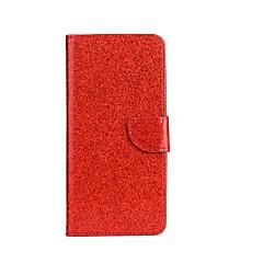 Voor Hoesje cover Portemonnee Kaarthouder met standaard Flip Patroon Volledige behuizing hoesje Glitterglans Hard PU-leer voor SonySony