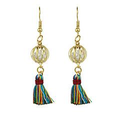 Kolczyki wiszące Klasyczny Natura Frędzle Stop Taper Shape Biżuteria Na Codzienny Casual 1 para