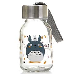 145ml mini uygun seyahat cam karikatür su şişesi