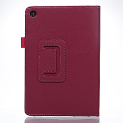 For Case Cover with Stand Flip Full Body Case Solid Color Soft PU Leather for ASUS ZenPad8.0 Z380C/M P024 Z380KL/KNL