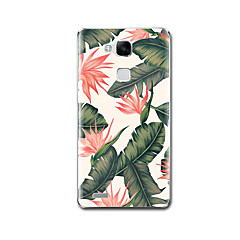 For Etuier Armbånd Mønster Bagcover Etui Blomst Blødt TPU for Huawei Huawei Mate 9 Huawei Mate 8 Huawei Mate 7