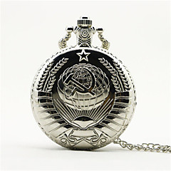 Men's Pocket Watch Automatic self-winding Alloy Band Gold