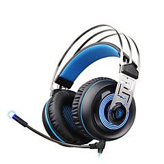 ske vojne a7 USB 7.1 surround zvuk profesionalni stereo gaming slušalice plave LED rasvjeta slušalice s mikrofonom za laptop PC