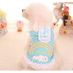 Perros Vestidos Ropa para Perro Adorable Moda Princesa Rojo Azul