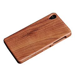 Cornmi voor Sony Sony Xperia Z3 Walnut Wood Cover Case GSM Houten Houising Case Protection
