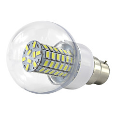 4.5W B22 Ampoules Globe LED 69 SMD 5730 420 lm Blanc Chaud Blanc Froid V 1 pièce