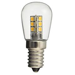 1W E14 LED Globe Bulbs 24 SMD 2835 50-99 lm Warm White White Decorative AC110 AC220 V 1 pcs