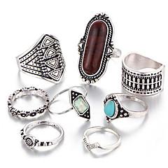 Női Midi gyűrűk Régies (Vintage) Jelmez Ötvözet Ékszerek Kompatibilitás Napi