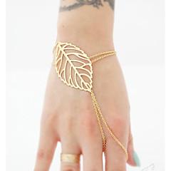 Női Lánc & láncszem karkötők Gyűrű karkötők Ékszerek Bohemia stílus Kézzel készített jelmez ékszerek Ötvözet Circle Shape Ékszerek
