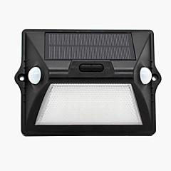 1db napenergia mozgásérzékelő lámpa kültéri IP65 vízálló led érzékelő biztonsági éjszakai fény automatikus fehér és színes üzemmódban