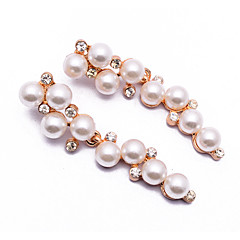 Drop Earrings Jewelry Euramerican Fashion Gem Alloy Jewelry Gold Jewelry For Party Gift Casual 1 pair