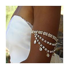 Γυναικεία Κοσμήματα Σώματος Body Αλυσίδα / κοιλιά Αλυσίδα Μοντέρνα Απομίμηση Μαργαριταριού Στρας Κράμα Bowknot Shape Κοσμήματα Για Causal
