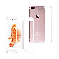 Σκληρυμένο Γυαλί Προστατευτικό οθόνης για Apple iPhone 7 Προστατευτικό μπροστινής και πίσω οθόνης Κυρτό άκρο 2,5D Έκρηξη απόδειξη Σούπερ
