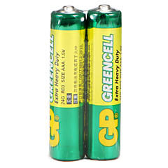 GP Green Cell Super Carbon Battery Rechargeable Battery 24G R03 AA 1.5V Mercury-Free
