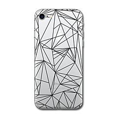 iPhone 7 plus 7 burkolata mintázat hátlap esetében geometrikus minta csempe puha TPU iPhone 6S plusz 6 plusz 6S 6 5s SE