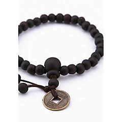 Dames Heren Strand Armbanden Sieraden Natuur Modieus Hout Legering Sieraden Voor Speciale gelegenheden