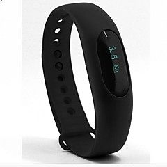 Dames Heren Sporthorloge Slim horloge Chinees Digitaal LED Hartslagmeter Stappenteller Fitness trackers Stopwatch Silicone Band