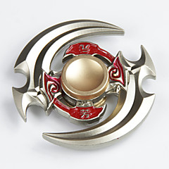 Fidget spinner -stressilelu hand Spinner Lelut kaksi Spinner Metalli EDCLievittää ADD, ADHD, ahdistuneisuus, Autism Stressiä ja