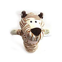 Μαριονέτα δαχτύλου Πρωτοποριακά και αστεία παιχνίδια Ζώο Tiger Χνουδωτό