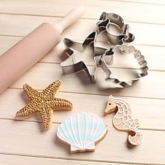 Forma do pieczenia Cartoon Shaped Zwierzę Hvězdičky na ciasto dla czekolady na chleb Dla Cookie Dla Cupcake Stal nierdzewnaHalloween Ślub