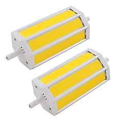 9W R7S COB Led Bulb 135mm Replacement Halogen Floodlight Lamp AC85-265V 110V-240V (2 Pieces)