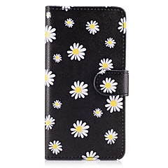 Case For Samsung Galaxy Grand Prime On7(2016) Case Cover The Small White Flowers Pattern PU Leather Cases for On5(2016)