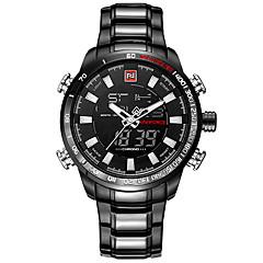 NAVIFORCE Luxury Brand Men Military Sport Watches Men's Digital Quartz Clock Full Steel Waterproof Wrist Watch relogio masculino