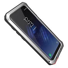 Samsung Galaxy S8 plusz s8 esetben fedelet víz / szennyeződés / ütésálló teljes test esetében páncél kemény alumínium S7 szélén S7 S6