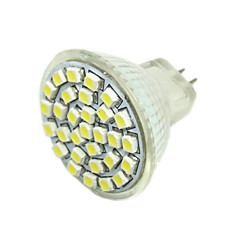 G4 GU4(MR11) GZ4 LED Spot Lampen MR11 30 SMD 3528 180-240 lm Warmes Weiß DC 12 V