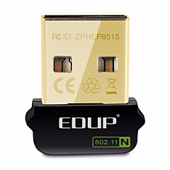 Edup usb adattatore wifi wireless 150mbps wirelee scheda di rete ep-n8508gs