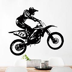 애니멀 휴일 레져 벽 스티커 플레인 월스티커 데코레이티브 월 스티커 3D,종이 자료 홈 장식 벽 데칼