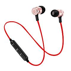 Magnet bluetooth hörlurar trådlösa bluetooth headset sport springande stereo super bas öronproppar med mikrofon för mobiltelefon