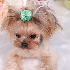 Pies Krawat/Muszka Ubrania dla psów Urocza Codzienne Modny Stały Purple Green Różowy Light Blue