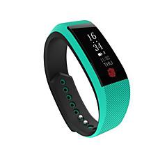 Slimme armbandWaterbestendig Lange stand-by Verbrande calorieën Stappentellers Hartslagmeter Touch Screen Bloeddrukmeting Informatie