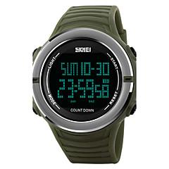 SKMEI Ανδρικά Αθλητικό Ρολόι Στρατιωτικό Ρολόι Μοδάτο Ρολόι Ρολόι Καρπού Ψηφιακό ρολόι Ιαπωνικά ΨηφιακόLED Ημερολόγιο Χρονογράφος