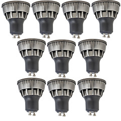 3W LED Spotlight 1 COB 320 lm Warm White Cool White Decorative AC85-265 V 10 pcs