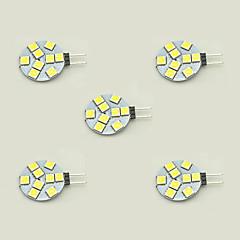 1.5W Luci LED Bi-pin T 9 SMD 5050 148 lm Bianco caldo Bianco DC 12 V 5 pezzi