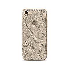 Kotelo iphone 7 plus 7 kattaa läpinäkyvä kuvio takakansi puu puu pehmeä tpu iphone 6s plus 6 plus 6s 6 se 5s 5c 5 4s 4