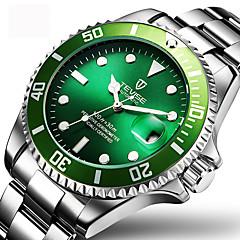 Bărbați Ceas Elegant Ceas La Modă Ceas de Mână ceas mecanic Mecanism automat Calendar Rezistent la Apă Luminos Oțel inoxidabil Bandă